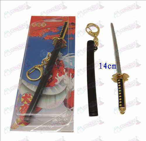 DInuYasha Accessories iron sheath knife buckle broken teeth