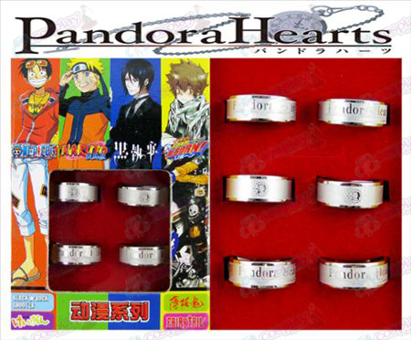 Pandora Frosted Ring (6 / set)
