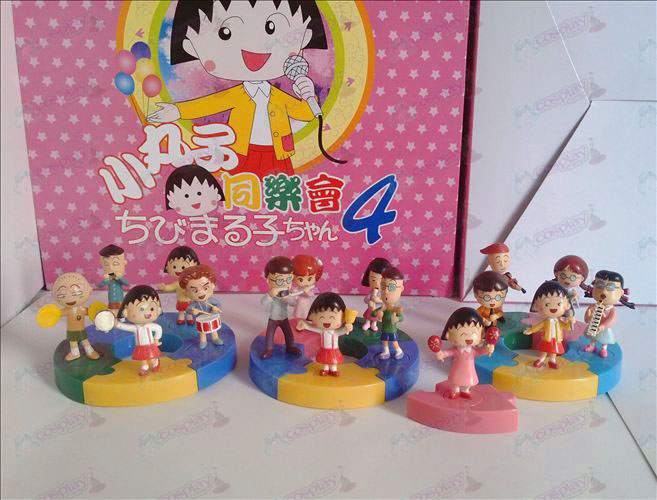 16 models Chibi Maruko Chan Accessories ceilidh beautifully boxed doll