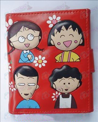 Q version of Chibi Maruko Chan Accessories Avatar wallet (A)