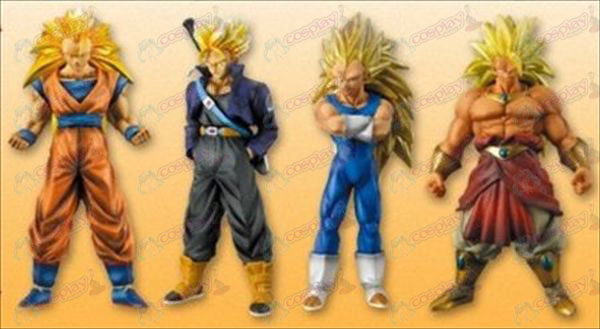 31 on behalf of four ultra-color Dragon Ball Accessories (16cm)