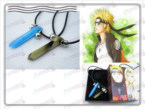 Naruto Naruto Yugen couple necklace (blue + bronze)