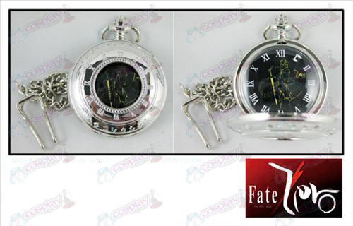 Scale hollow pocket watch-FATE