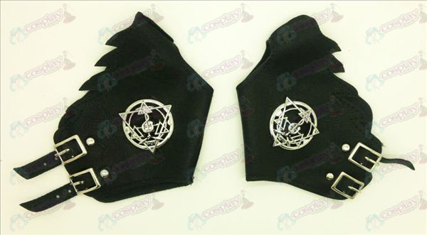 Fullmetal Alchemist Tempered array punk gloves