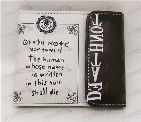 Death Note Accessories snap wallet (Jane)