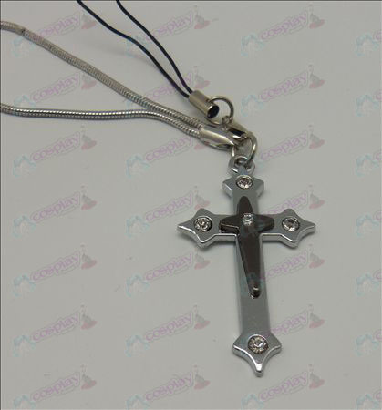 Blister Death Note Accessories Cross Strap (Black)