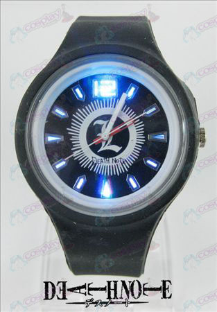 Colorful flashing lights sport watch-Death Note Accessories
