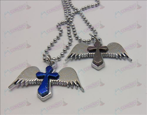 Death Note Accessories Angel Cross Necklace (box)
