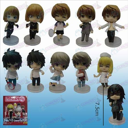 2nd generation 11 Death Note AccessoriesQ Version floor doll (sets)
