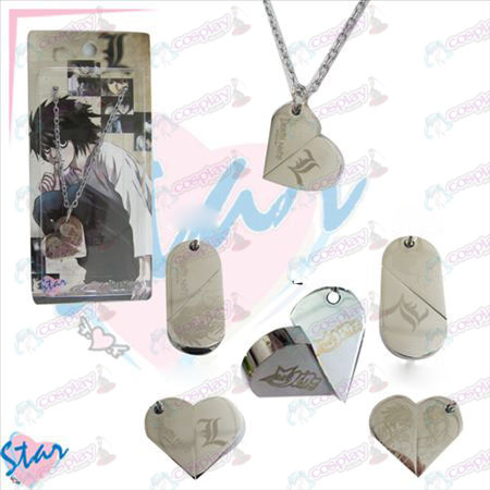 Death Note Accessories necklace heart-shaped transition