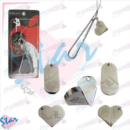 Death Note Accessories Strap heart-shaped transition