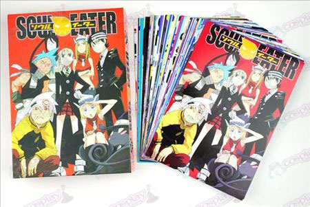 Soul Eater Accessories Postcards B