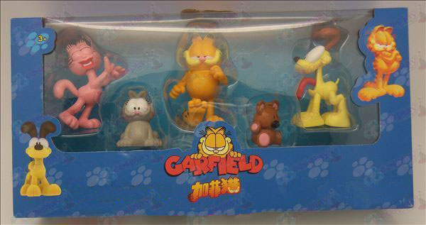 Garfield dolls Packs