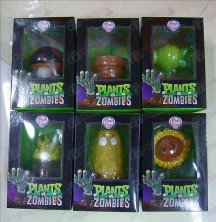 6 Plants vs Zombies Accessories (12-18CM)
