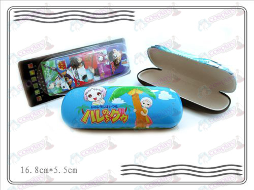 Tropical rain Lin Abu hilarious life glasses case