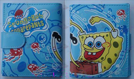 Q version of SpongeBob SquarePants Accessories Avatar wallet