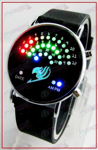 Colorful Korean fan LED watches - Fairy Tail Accessories