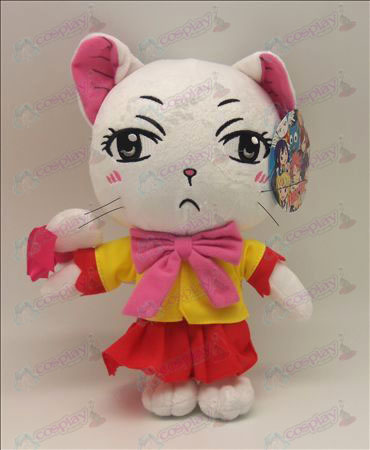 Fairy Tail Accessories White Cat Plush