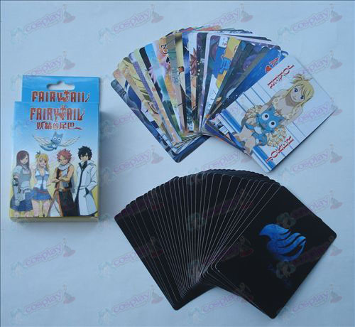 DFairy Tail Accessories embossed poker