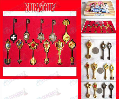 Fairy Tail Accessories Key Set
