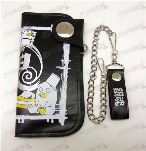 Gin Tama Accessories big purse (black)