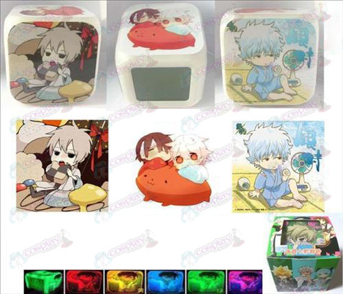 Gin Tama AccessoriesQ Version 3 surface color colorful alarm clock