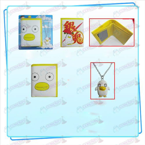Gin Tama Accessories Combo necklace purse Elizabeth