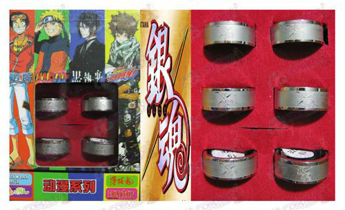 Gin Tama Accessories Frosted Ring (6 / set)