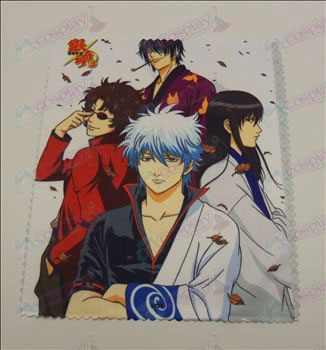 Glasses cloth (Gin Tama Accessories0221) 5 sheets / set