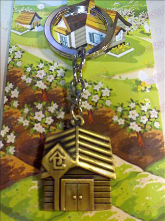 QQ Ranch Keychain (Bronze)