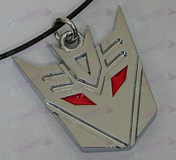 Transformers Accessories Decepticons Necklace - marked - White