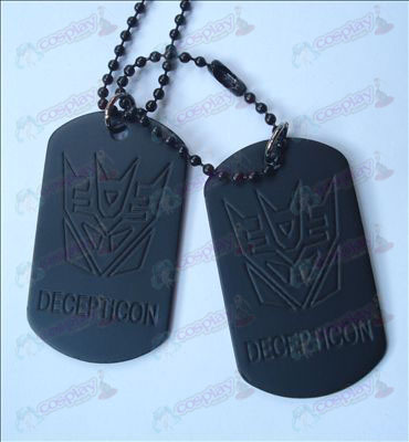 Transformers Accessories Decepticons Necklace (Jane)