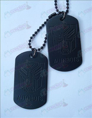Transformers Accessories Autobots Necklace (Jane)