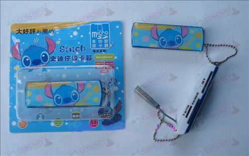 Lilo & Stitch Accessories multi-card reader (a)