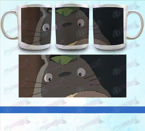 YB099-My Neighbor Totoro Accessories pearlescent silver cup