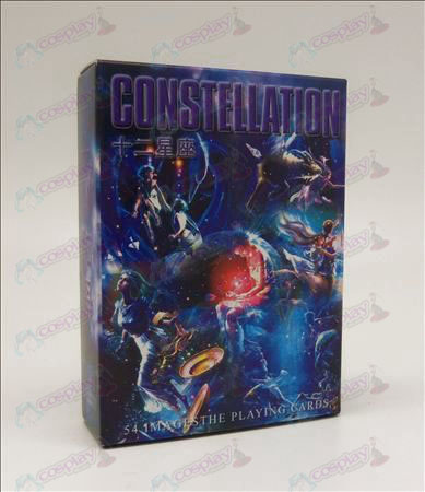 Hardcover edition of Poker (Twelve constellations Accessories)