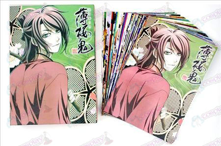 Hakuouki Accessories Postcard A