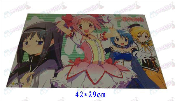 42 * 29cmMagical Girl Accessories embossed posters (8)