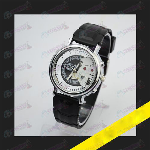 Relief skeleton watch-Magical Girl Accessories small round