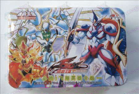 Genuine Tin Yu-Gi-Oh! Accessories Card (win! Flying hero card group)