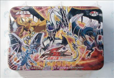 Genuine Tin Yu-Gi-Oh! Accessories Card (sin World Birth card group)