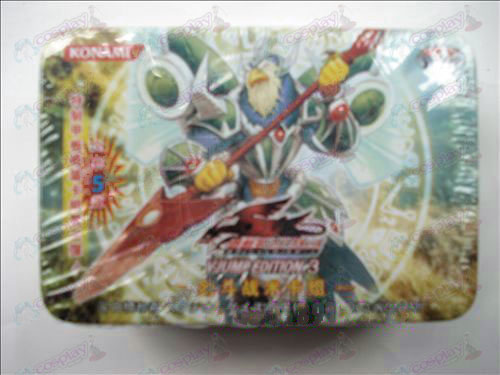 Genuine Tin Yu-Gi-Oh! Accessories Card (sword fighting tactics card group)