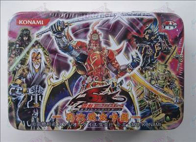 Genuine Tin Yu-Gi-Oh! Accessories Card (True Six Samurai Deck)
