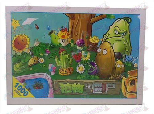 Plants vs Zombies Accessories Puzzle (1379)