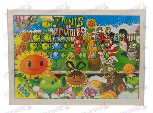 Plants vs Zombies Accessories puzzle 1380