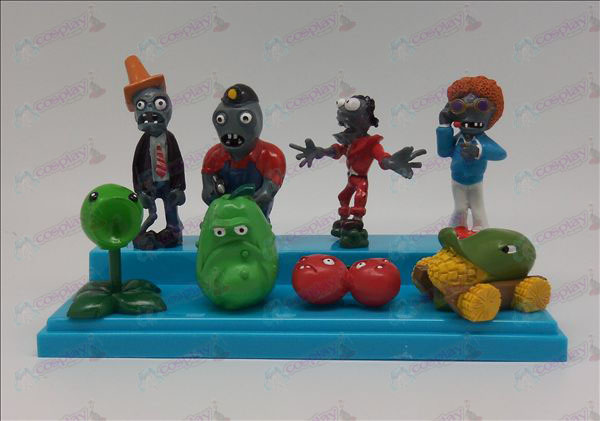 An eight-generation Plants vs Zombies Accessories Doll