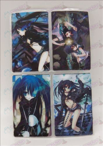 4 PVCLack Rock Shooter Accessories simcard