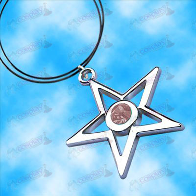 Lack Rock Shooter Accessories pentagram necklace (pink)