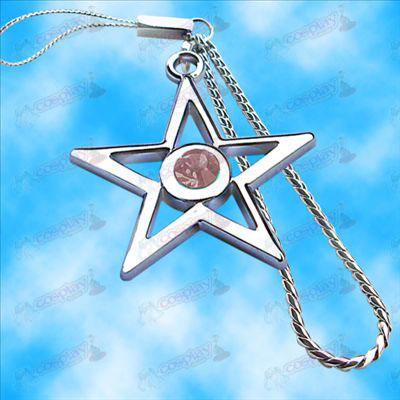 Lack Rock Shooter Accessories pentagram Machine Chain (Pink)