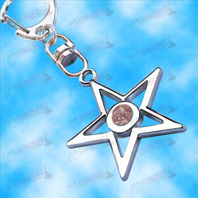 Lack Rock Shooter Accessories pentacle hanging buckle (Pink)
